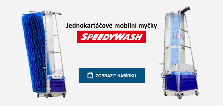 Nová řada jednokartáčových mobilních myček - Sigra čistící technika Praha