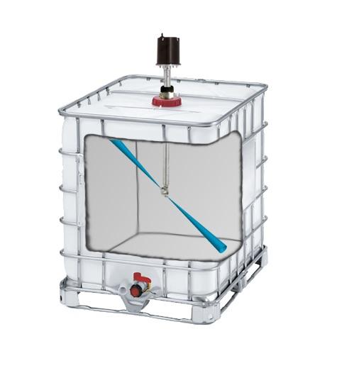 Weidner mycí systém pro čistění nádrží, tanků a sudů