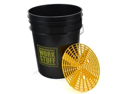 WORK STUFF černý kbelík s vložkou