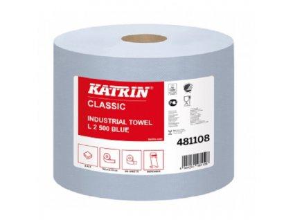 8460 prumyslova role papiru katrin classic l2 blue 481108 2ks baleni