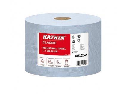 8463 prumyslova role papiru katrin classic l3 blue 481252 2ks baleni