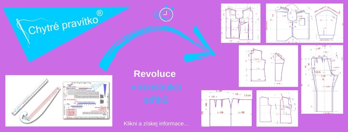 Chytré pravítko® - revoluce v konstrukci střihu