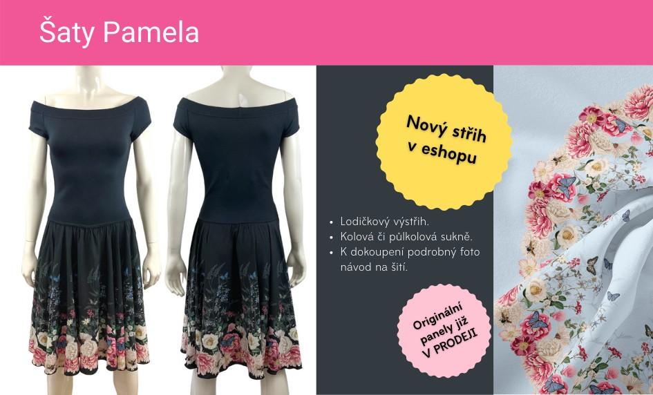 Nový střih na šaty Pamela