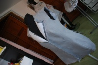 kurz šití  - dámské sako