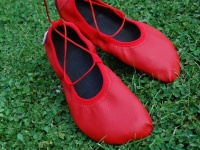 střih na boty barefoot