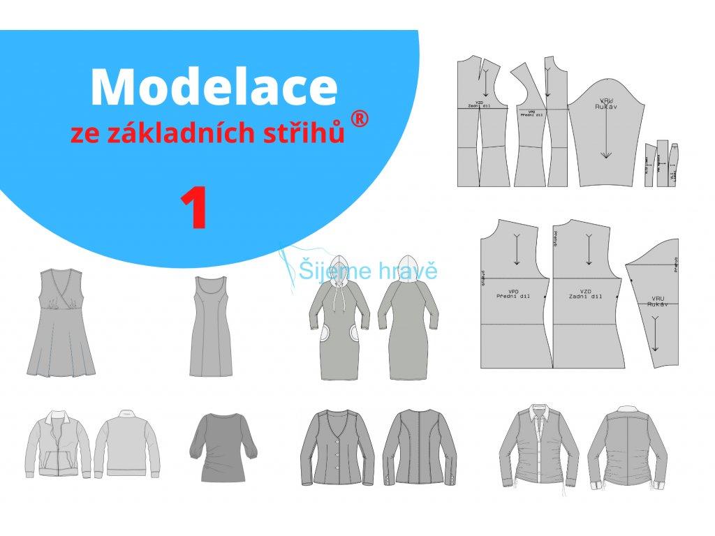 Modelace ze základních střihů 1
