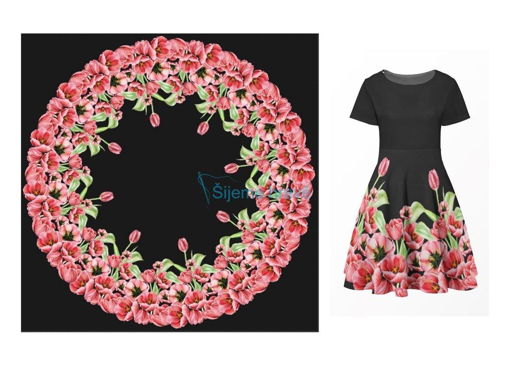 panel silky tulipany kolova sukne