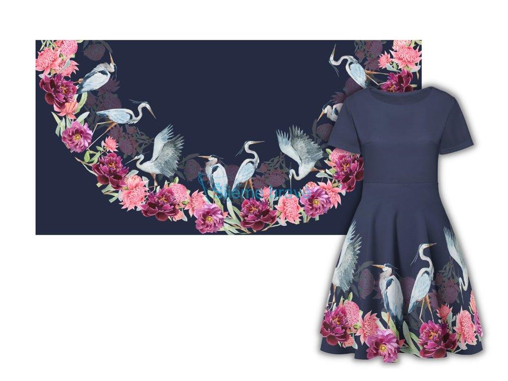 panel pulkolova sukne bavlneny uplet 180x90 volavky