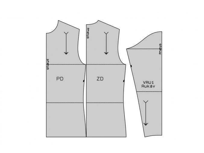 Základní střih na tričko