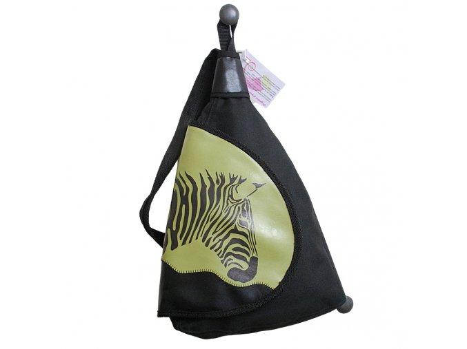 chamelea batoh zelena zebra