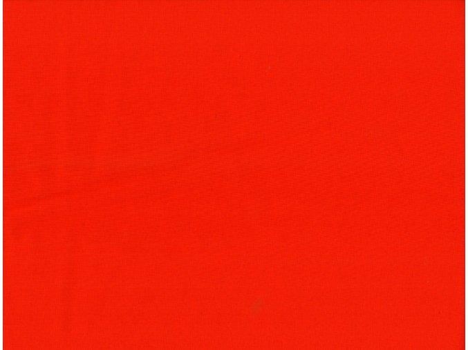 Vrchní díl balerínek - červený softshell