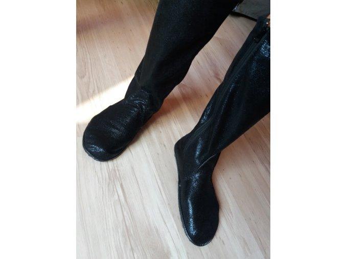 Barefoot kozačky - NÁVOD