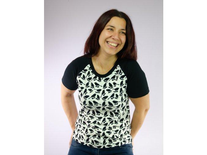 Dámské raglánové tričko Anička