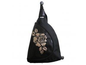 Batoh s klopou - Béžová růže