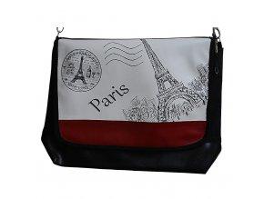 Kabelka s klopou, vel. L - Paříž