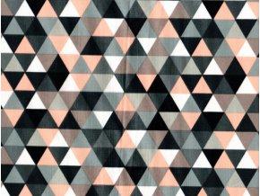 Vrchní díl balerínek - triangl