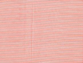 Vrchní díl balerínek - červené proužky drobné