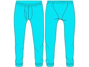 technický nákres funkční kalhoty 1