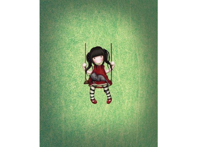 Panel holčička na houpačce