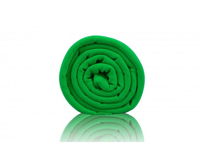 Teplákovina nepočesaná zelená