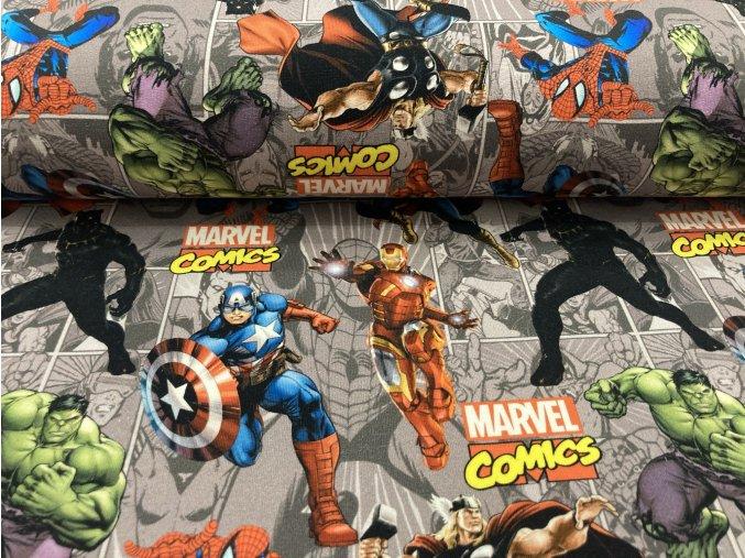 Teplákovina nepočesaná super hrdinové