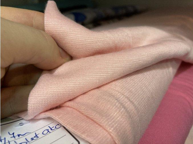 výprodej - viskozovy naplet baby pink IIjakost