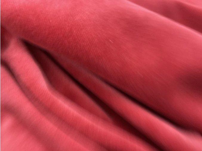 výprodej - velur červená
