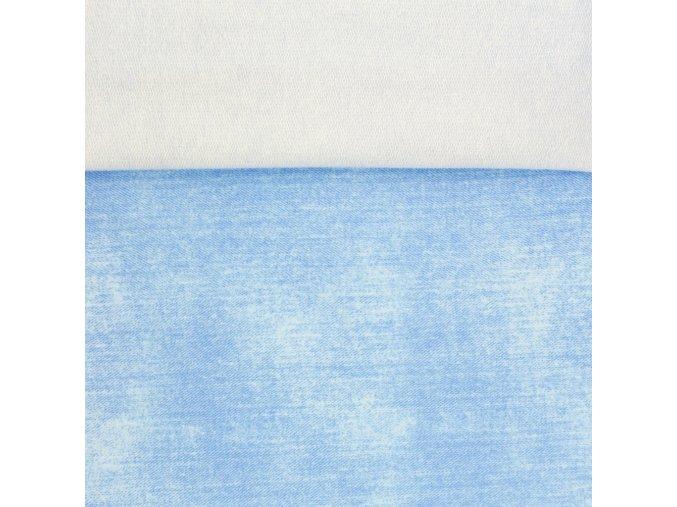 [S938R 182151] [S938R] French Terry Jeans (Světle Modrá)