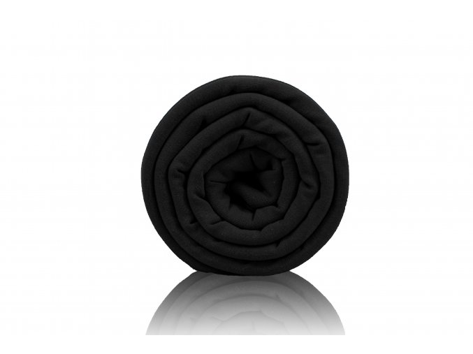 Bambusový úplet černá