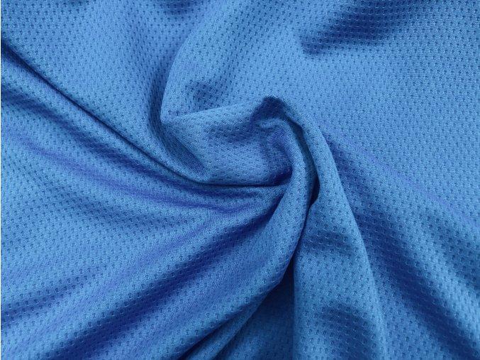 Úplet sportovní modrý perforovaný