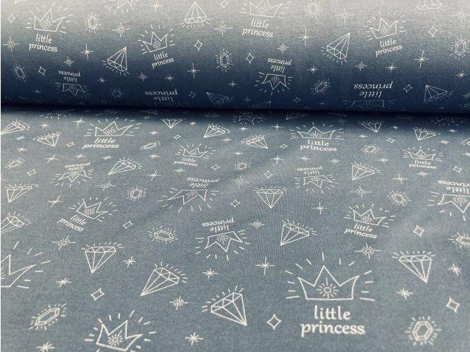 Teplákovina počesaná little princess
