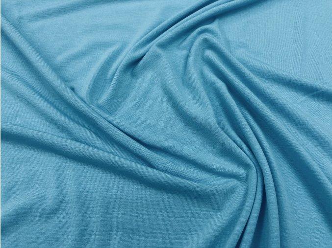 Úplet viskózový blankytně modrý