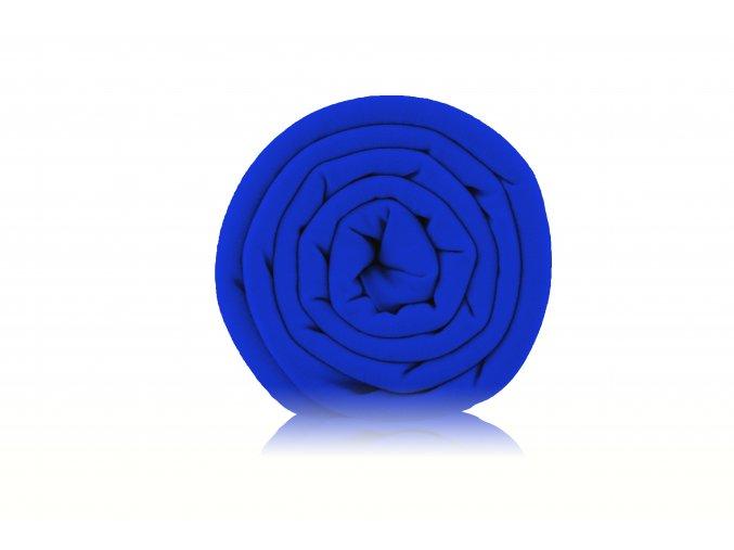 Teplákovina nepočesaná královsky modrá