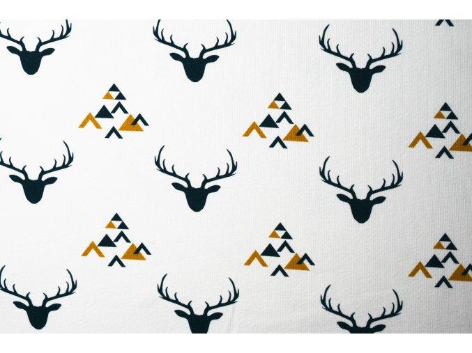 Teplákovina nepočesaná jelen