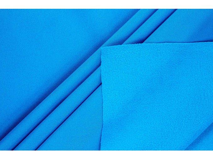 tkanina softshell niebieski 150cm 330gm2