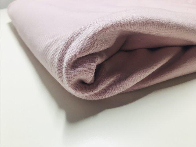 Teplákovina nepočesaná pink