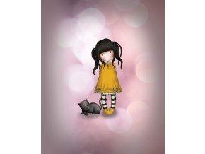 Panel holčička kočička