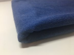 Úplet melír tmavě modrá