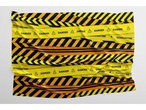 Caution mockup