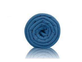 Teplákovina nepočesaná Blue stone