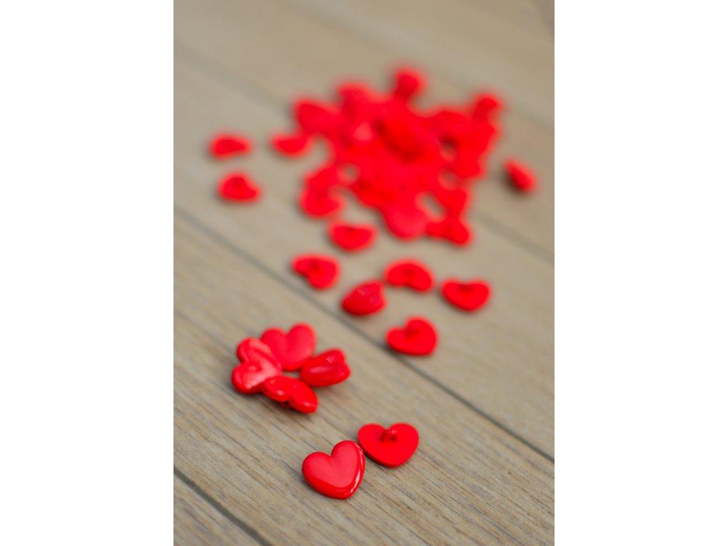 Srdiečkové gombíky 18 mm