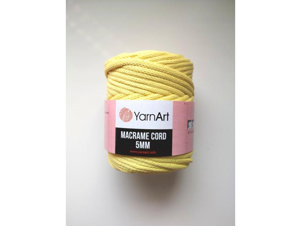 Yarnart Macrame Cord 5 mm 754
