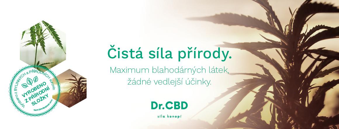 Síla konopí Dr.CBD