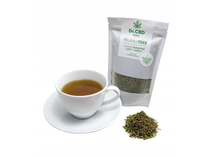Konopný čaj RELAXUJTÉÉÉ 40g sypaná herba