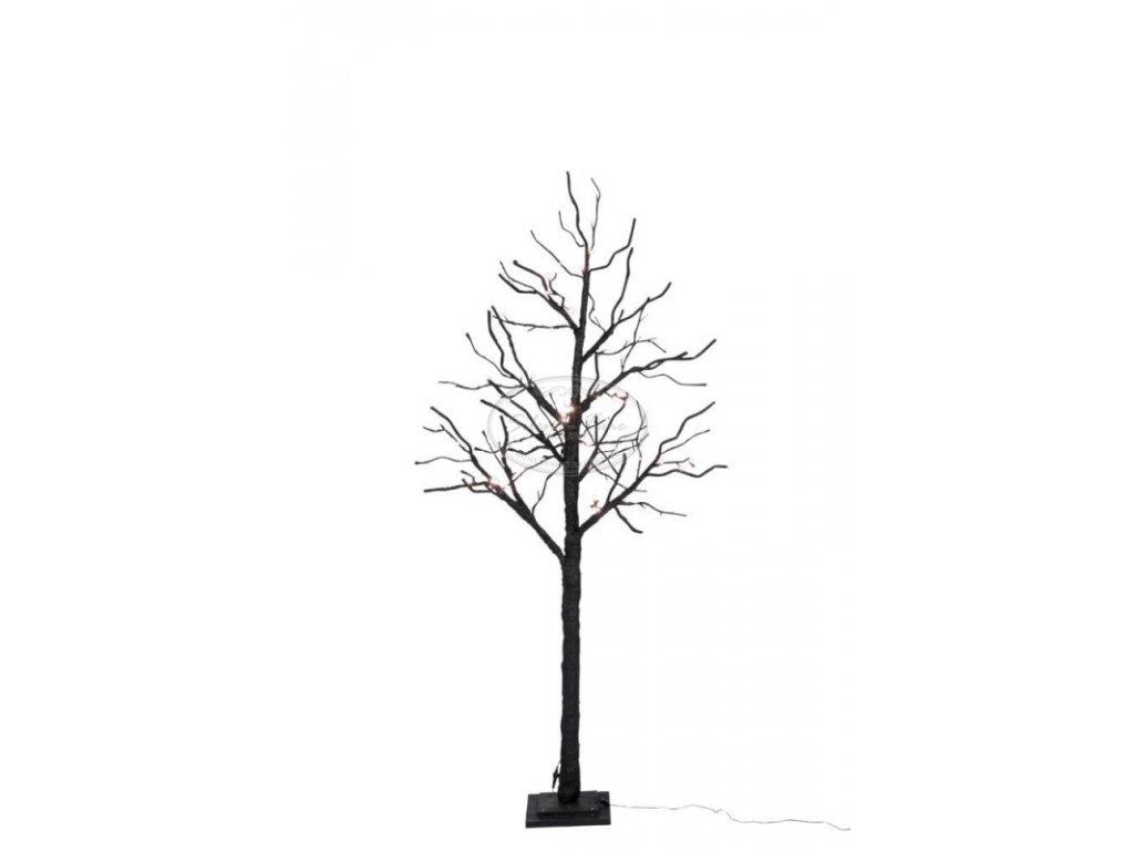 Dekorativní strom černý LED s osvětlením