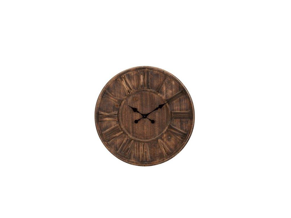 Dřevěné hodiny DISC M
