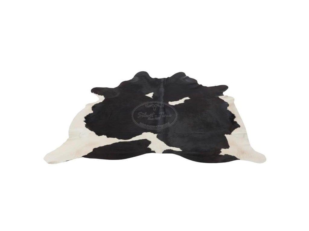Pravá kravská kůže černo-bílá