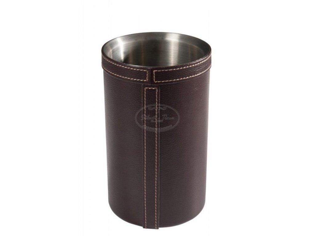 Chladící nádoba na víno LEATHER