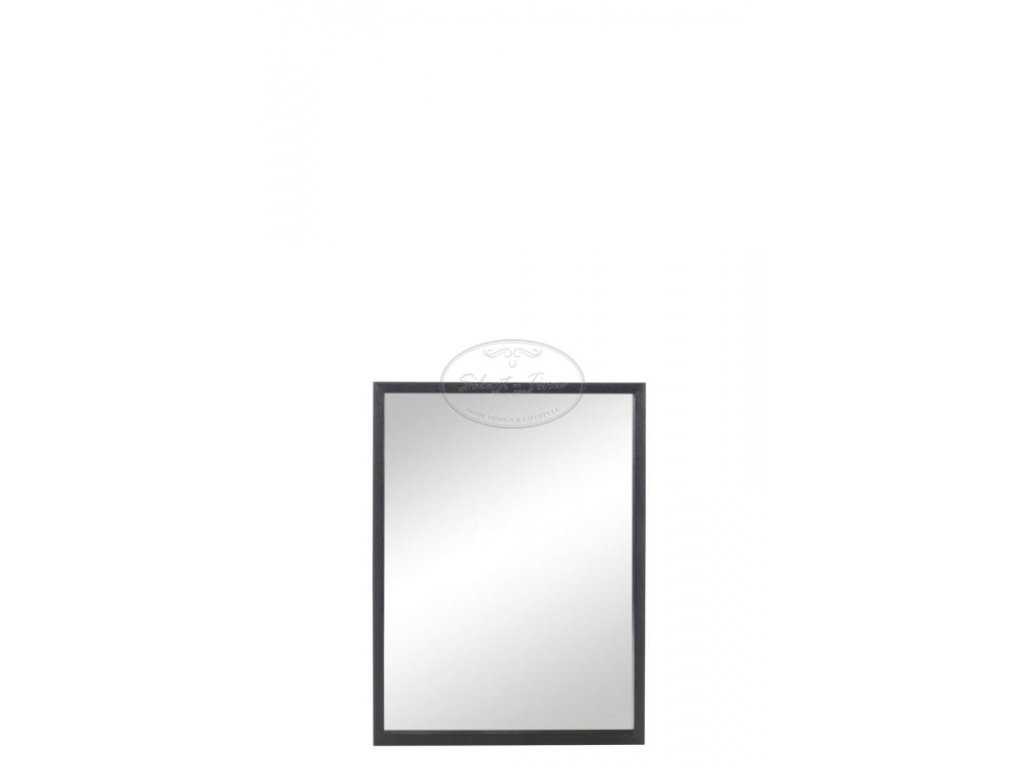 Zrcadlo WOOD BLACK 1