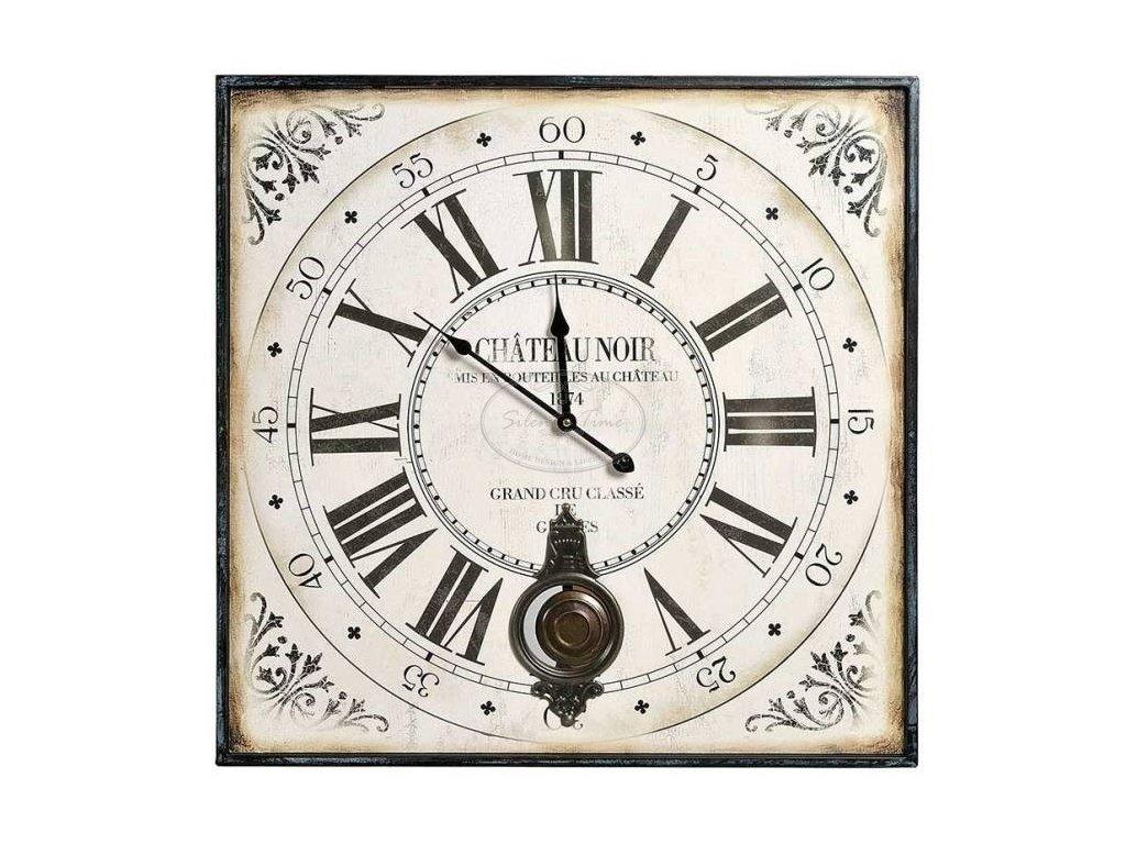 Kovové hodiny CLASSÉ